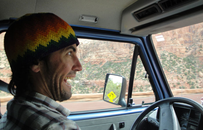 Well...this is what you may look like driving round Bryce Canyon National Park.  It is a MAJOR TRIP SHOW amigos