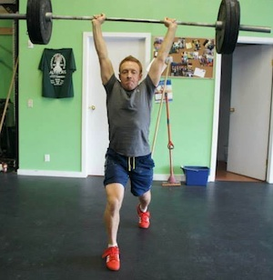 Andrew weightlifting