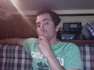 Adam Scheuer iHaveUC founder April 23 2014.  Southport, NC
