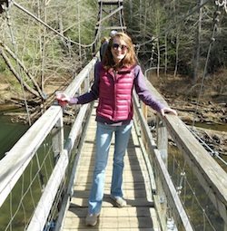 Brittany on bridge c