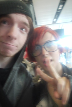 here's a picture of me and Hayley Williams to attach, since I put the quote in I thought it'd be fitting!