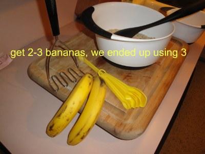 bananas for baking cake