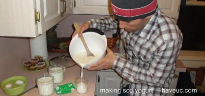 scd yogurt making first time