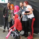 Jaime with Paramore